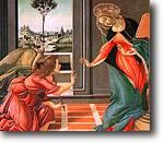 [Anunciación de Sandro Botticelli. 1489]