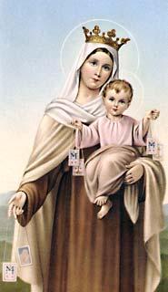 Oraciones A Nuestra Señora Virgen Del Carmen Ii