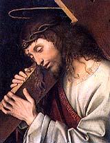 [Cristo con la cruz a cuestas de Francisco Maineri]