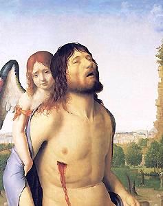 [Cristo muerto de Antonello da Mesina. 1475-78]