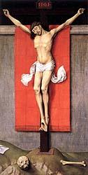 [Díptico de la crucifixión de Rogier van der Weyden. 1460]