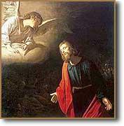 [Cristo en el huerto de Getsemaní, de Gerard van Honthorst. 1620]