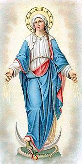 [Virgen de la Inmaculada Concepción. Estampa antigua]