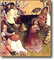 [La oración en el huerto de Hans Multscher. 1437]
