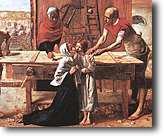 [Cristo en casa de sus padres de John Everett Millais. 1850]