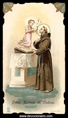 Oraciones A San Antonio De Padua I