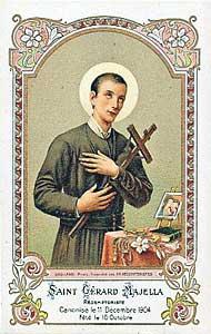 Oraciones A San Gerardo Mayela