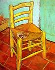 [La silla con pipa de Vicent van Gogh]