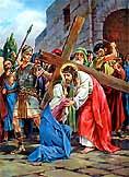 Via Crucis de San Alfonso Mª Ligorio (estaciones 1 a 5)