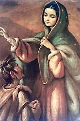[Aparición de la Virgen a San Juan Diego]